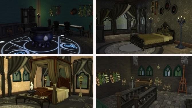 Sims 4 Magic Mansion at Tatyana Name