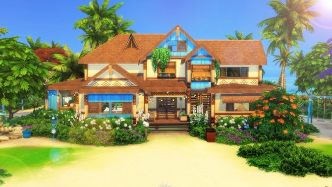 Ohana Mansion by Cassie Flouf at L'UniverSims image 9419 670x377 Sims 4 Updates