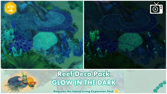Reef Deco Pack by Bakie at Mod The Sims image 942 670x377 Sims 4 Updates