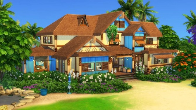 Ohana Mansion by Cassie Flouf at L'UniverSims image 9521 670x377 Sims 4 Updates
