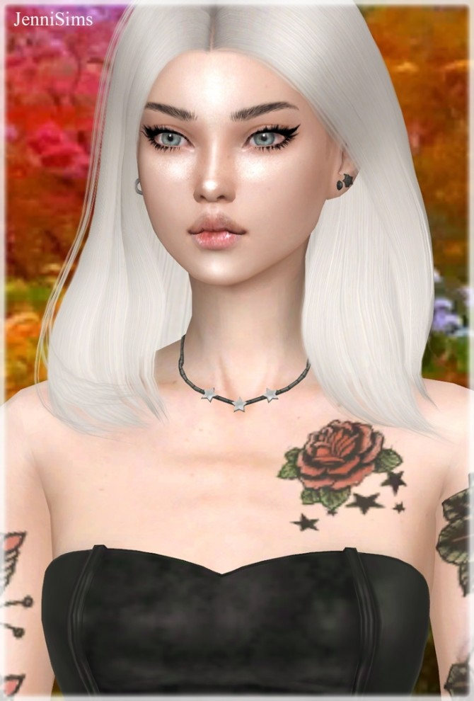 Sims 4 Base Game Compatible Earrings & Necklace at Jenni Sims
