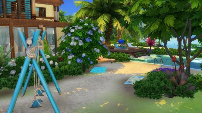 Ohana Mansion by Cassie Flouf at L'UniverSims image 9720 670x377 Sims 4 Updates