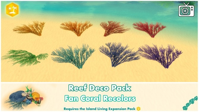 Reef Deco Pack by Bakie at Mod The Sims image 973 670x377 Sims 4 Updates