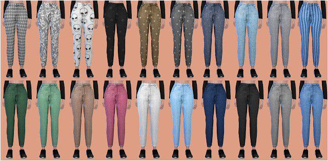 Sims 4 Pants 22 at All by Glaza