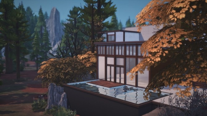 Sims 4 Forest Home at GravySims