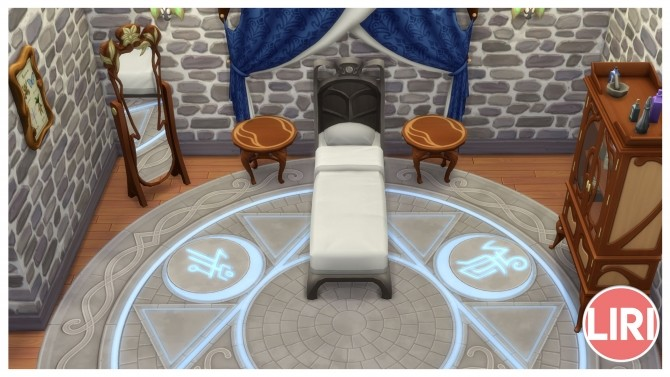 Sims 4 The Minds Eye Twin Bed Separated by Lierie at Mod The Sims