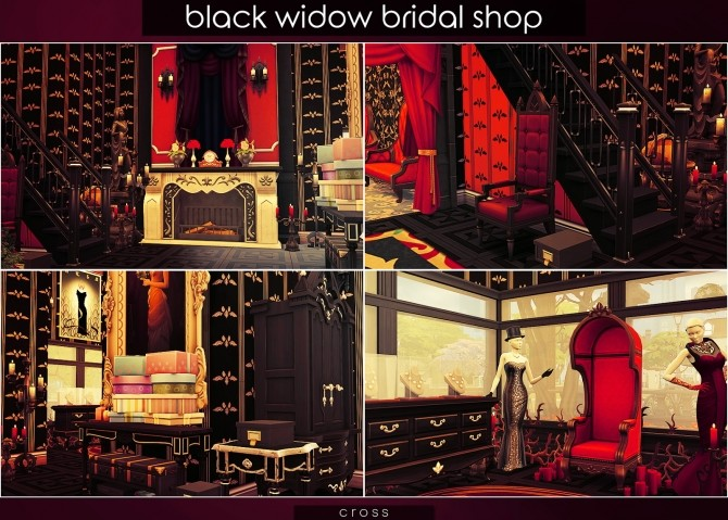 Black Widow Bridal Shop at Cross Design image 10410 670x479 Sims 4 Updates