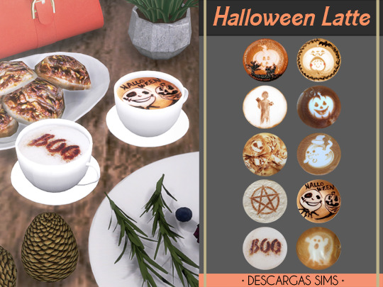 Halloween Latte at Descargas Sims image 10511 Sims 4 Updates