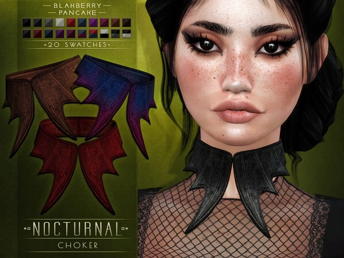 Nocturnal choker at Blahberry Pancake image 1055 670x503 Sims 4 Updates