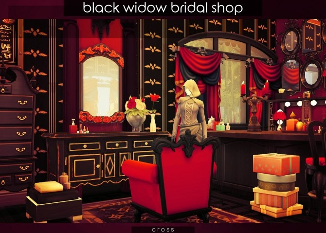 Black Widow Bridal Shop at Cross Design image 10610 670x479 Sims 4 Updates