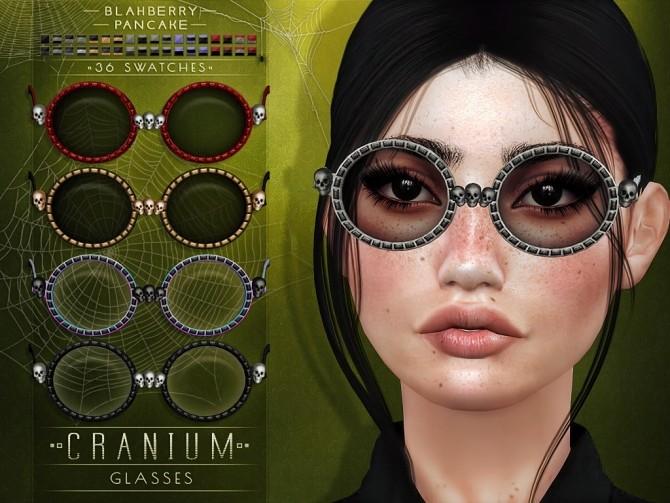 Cranium glasses at Blahberry Pancake image 10710 670x503 Sims 4 Updates