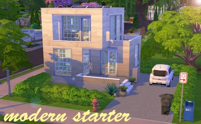 Modern starter house at Fab Flubs image 1073 670x415 Sims 4 Updates