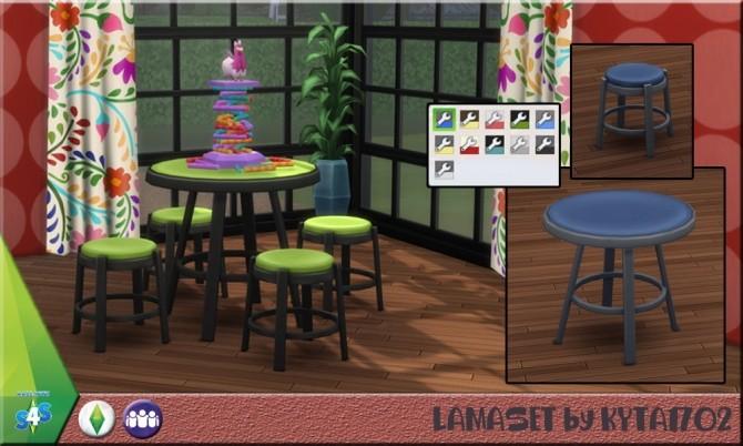 Sims 4 Lama set by Kyta1702 at Simmetje Sims