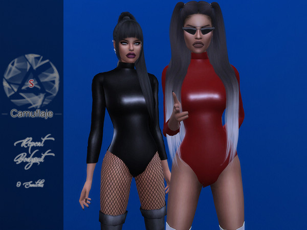 Repeat Bodysuit by Camuflaje at TSR image 10814 Sims 4 Updates
