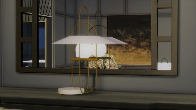 SETAREH TABLE LAMP at Meinkatz Creations image 1099 670x377 Sims 4 Updates
