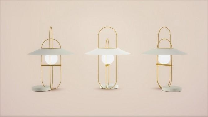 SETAREH TABLE LAMP at Meinkatz Creations image 11013 670x377 Sims 4 Updates