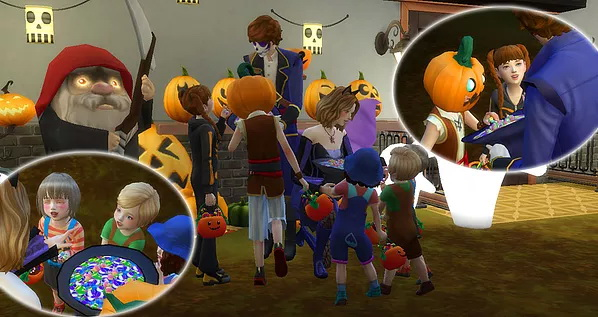 Halloween Poses at A luckyday image 1102 Sims 4 Updates
