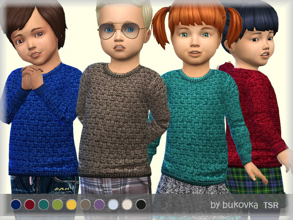 Textured Sweater by bukovka at TSR image 1104 Sims 4 Updates