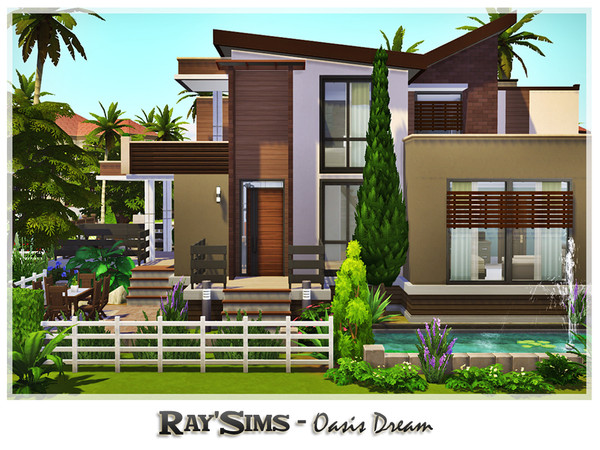 Oasis Dream house by Ray Sims at TSR image 1106 Sims 4 Updates
