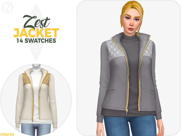 Sims 4 Zest Jacket by Nords at TSR