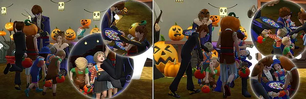 Halloween Poses at A luckyday image 1113 Sims 4 Updates