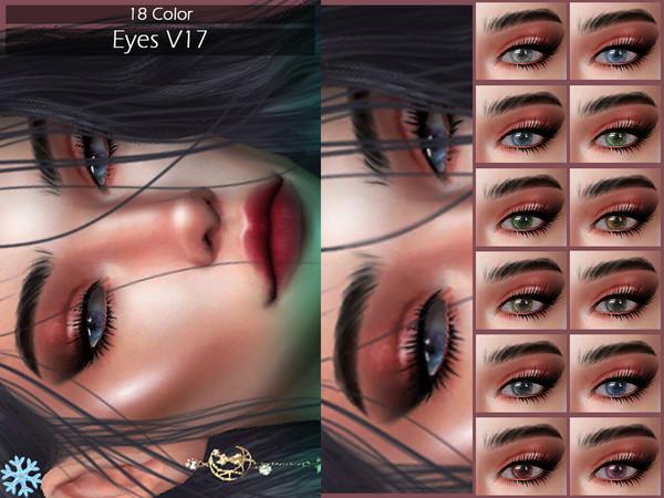 Sims 4 LMCS Eyes V17 by Lisaminicatsims at TSR