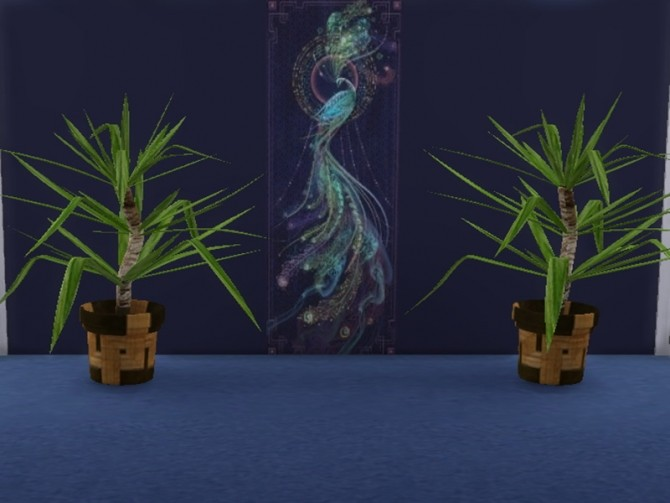 Sims 4 Yucca pot plant at Trudie55