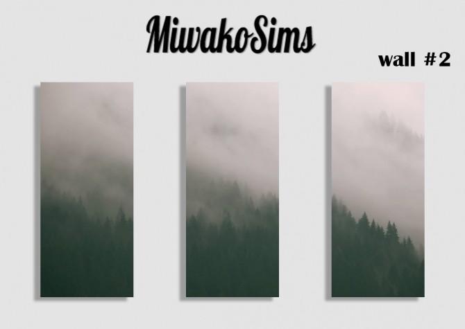 Wall #2 at MiwakoSims image 1173 670x475 Sims 4 Updates