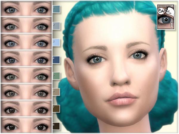Sims 4 Natural eye colors 05 by BAkalia at TSR