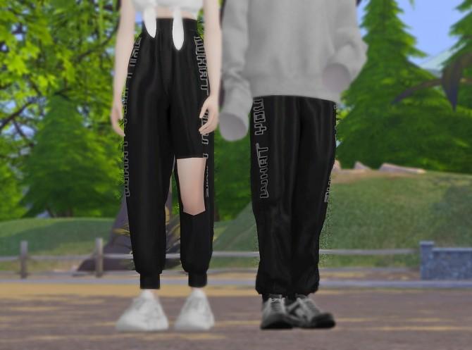 Satin Jogger Pants M&FM bottom at MINI SIMS image 1184 670x497 Sims 4 Updates