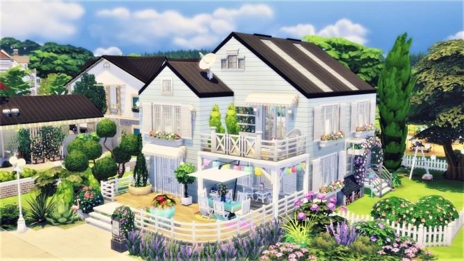 Sims 4 Cotton Alley house at Agathea k