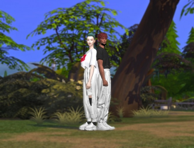 Satin Jogger Pants M&FM bottom at MINI SIMS image 1194 670x514 Sims 4 Updates
