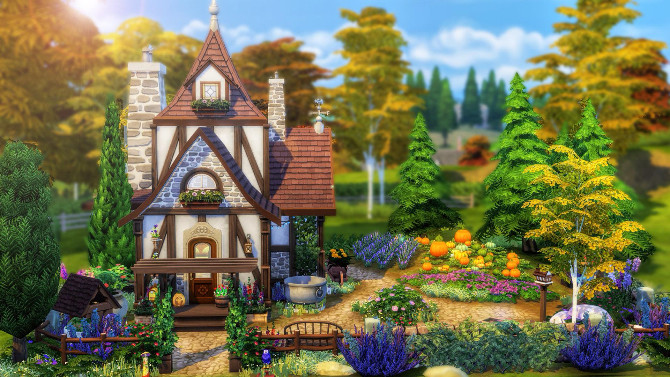 Tiny Witch house by Cassie Flouf at L'UniverSims image 12013 670x377 Sims 4 Updates