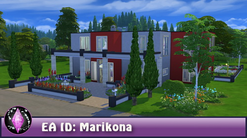 Rose house at CappusSims4You image 1203 Sims 4 Updates