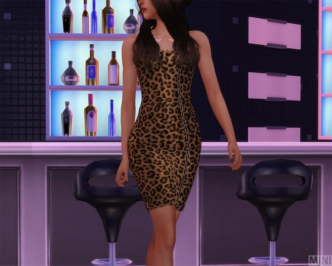 Zipper Dress at MINI SIMS image 12110 670x537 Sims 4 Updates