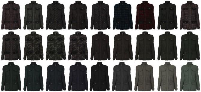 Cargo jacket at LazyEyelids image 12112 670x306 Sims 4 Updates