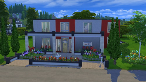 Rose house at CappusSims4You image 1217 Sims 4 Updates