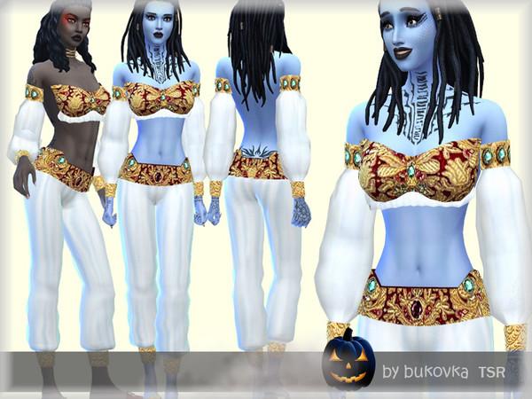 Sims 4 Dress Genie by bukovka at TSR