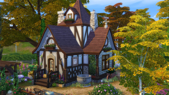 Tiny Witch house by Cassie Flouf at L'UniverSims image 12215 670x377 Sims 4 Updates