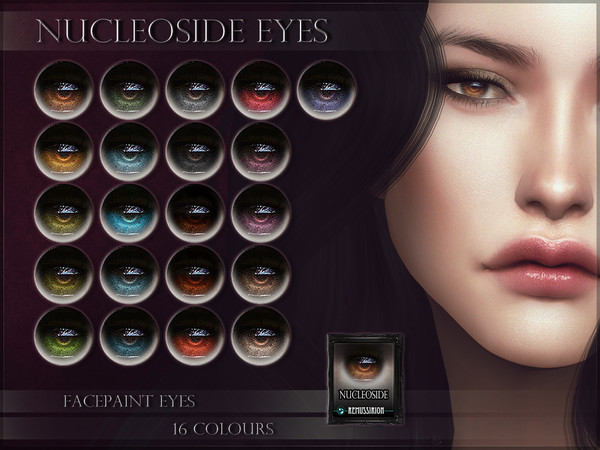 Nucleoside Eyes by RemusSirion at TSR image 1225 Sims 4 Updates