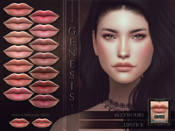 Genesis Lipstick by RemusSirion at TSR image 1228 Sims 4 Updates