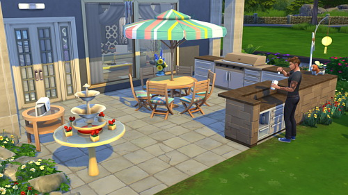 Rose house at CappusSims4You image 1232 Sims 4 Updates