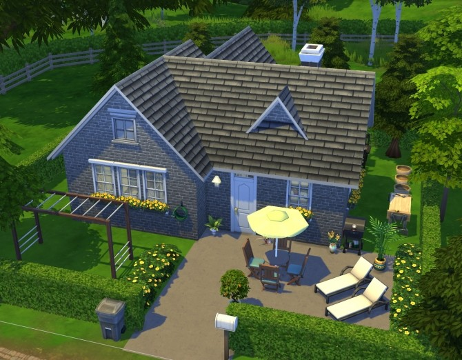 Cute and cozy cottage at Fab Flubs image 1256 670x522 Sims 4 Updates