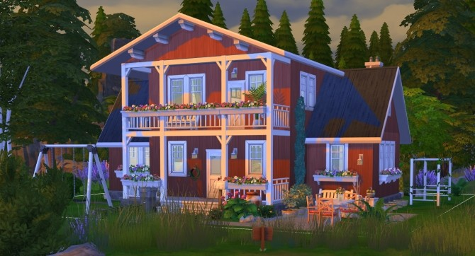 Windenburg cozy family cottage at Fab Flubs image 1299 670x362 Sims 4 Updates
