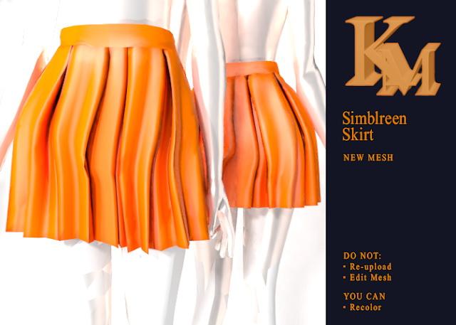 Sims 4 Simblreen Skirt at KM