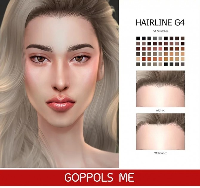 GPME GOLD Hairline G4 at GOPPOLS Me image 13113 670x632 Sims 4 Updates