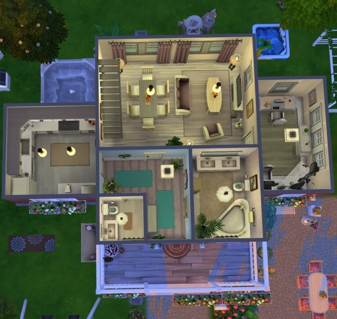 Windenburg cozy family cottage at Fab Flubs image 13116 670x634 Sims 4 Updates