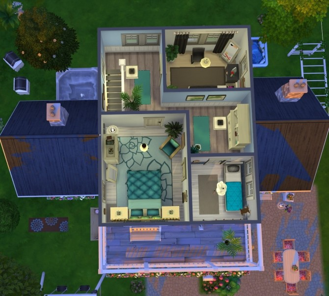 Windenburg cozy family cottage at Fab Flubs image 13213 670x602 Sims 4 Updates