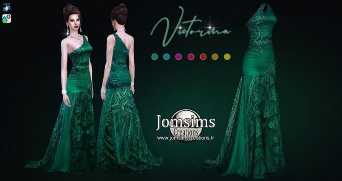 Victorina dress at Jomsims Creations image 1328 670x355 Sims 4 Updates