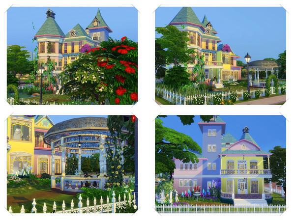 Sims 4 Tatiana house by marychabb at TSR
